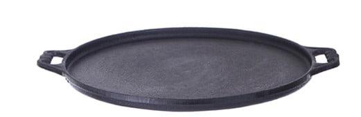 forma pizza ferro fundido 35 cm, assadeira, pizza na pedra, forma de pizza de pedra, fundicao santana