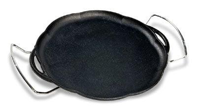 comprar chapa ferro fundido, petisco, 24 cm, suporte, bifeteira, bifeira, panela mineira
