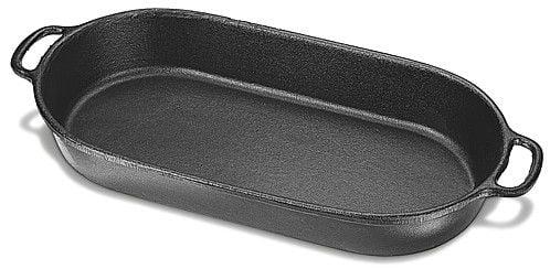assadeira de ferro fundido oval, travessa de ferro, 30, tabuleiro de ferro, forma de ferro
