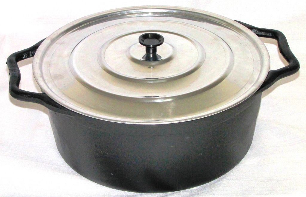 comprar panela ferro fundido, cacarola, caçarola, 28 litros, aluminio, panela mineira, fumil
