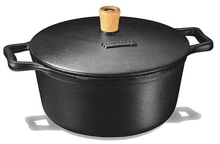 comprar panela de ferro fundido, caçarola, cacarola, 6 litros, panela mineira, fumil, alça ferro