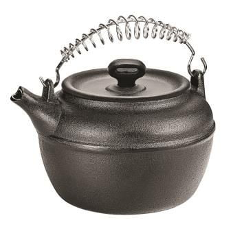 chaleira de ferro fundido, bule, 1 litro, panela mineira