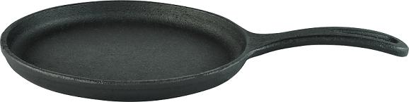 Kit de 05 chapas de tapioca, tapioqueira de ferro fundido