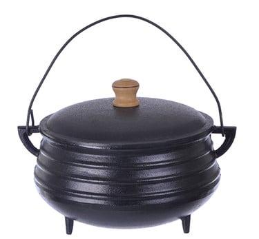 panela de ferro fundido, caldeirão de bruxa, panela wicca, 1,5 litro, panela de feijoada, panela tripé, caldeirão de ferro, santana