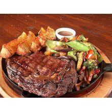 Bifeteira de ferro fundido 26 cm redonda, chapa picanheira, bifeira, bistequeira, grill libaneza, panela mineira