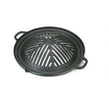 churrasqueira gengis khan, ferro fundido, 32 cm, fogareiro carvão, brasa, panela mineira