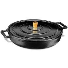 frigideira de ferro fundido 37, tampa ferro, frigideira grande, grill, antiaderente, panela mineira