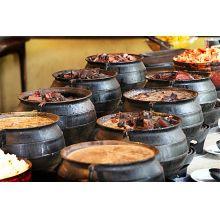panela de ferro fundido, buffet de feijoada, caldeirão de bruxa, 8 l, panela wicca, panela tripé, caldeirão de ferro