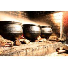 panela de ferro fundido grande, caldeirão de bruxa, 140 l, panela wicca, panela tripé, caldeirão de ferro