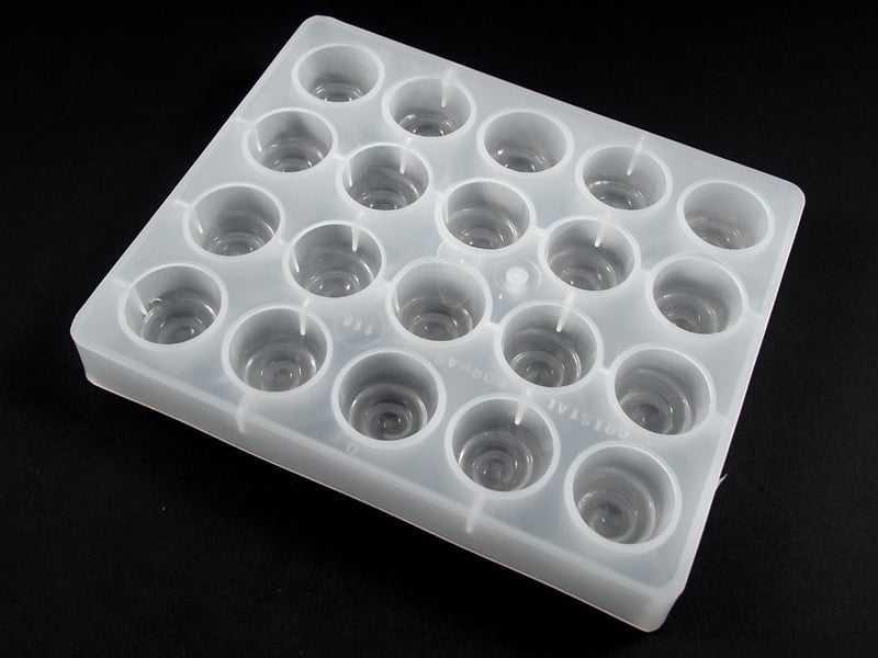 Forma Plástica para Chocolate Cereja A118 Cristal Formas