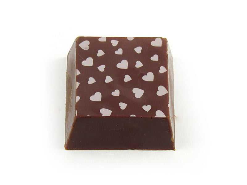 Transfer para Chocolate Coração  Mercantil Helvétia