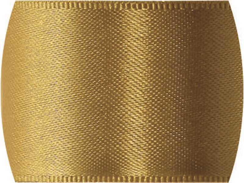 Fita de Cetim Lisa n°2 Ouro – CF228 – Progresso