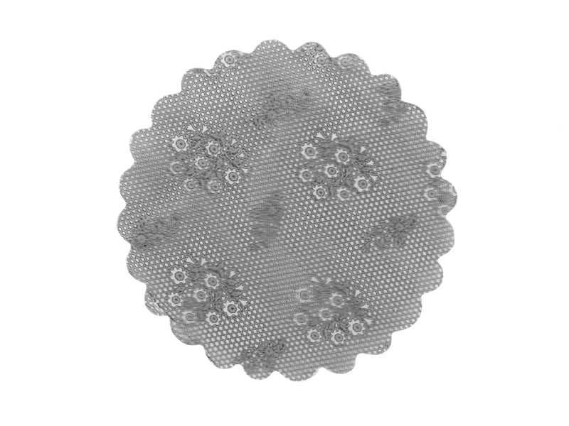 Tapetinho Prata N7 c/100 Leonardi