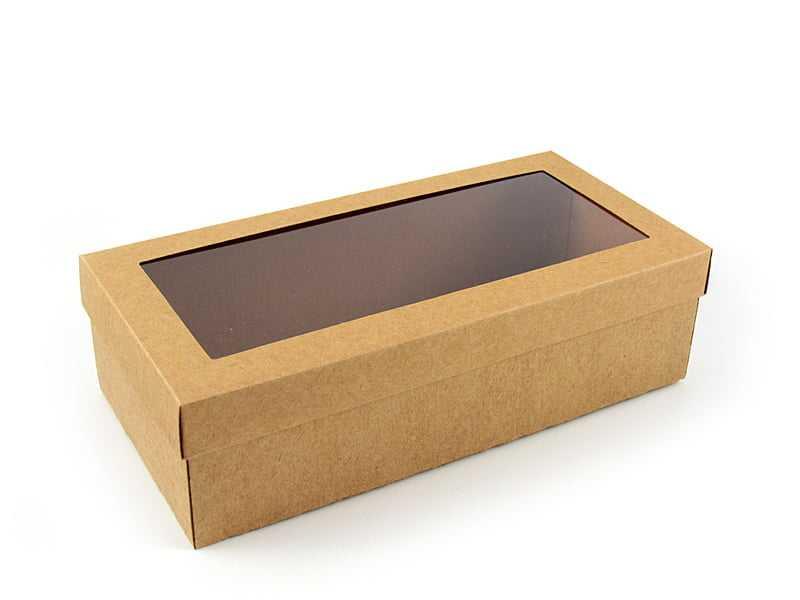 Caixa Kraft Visor 25x12x7 cm - Agabox