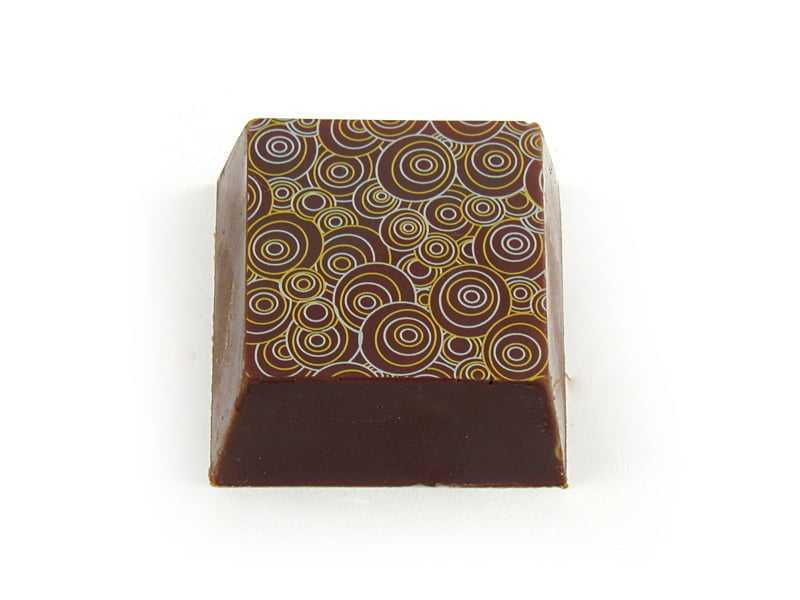 Transfer para Chocolate Espiral  Mercantil Helvétia