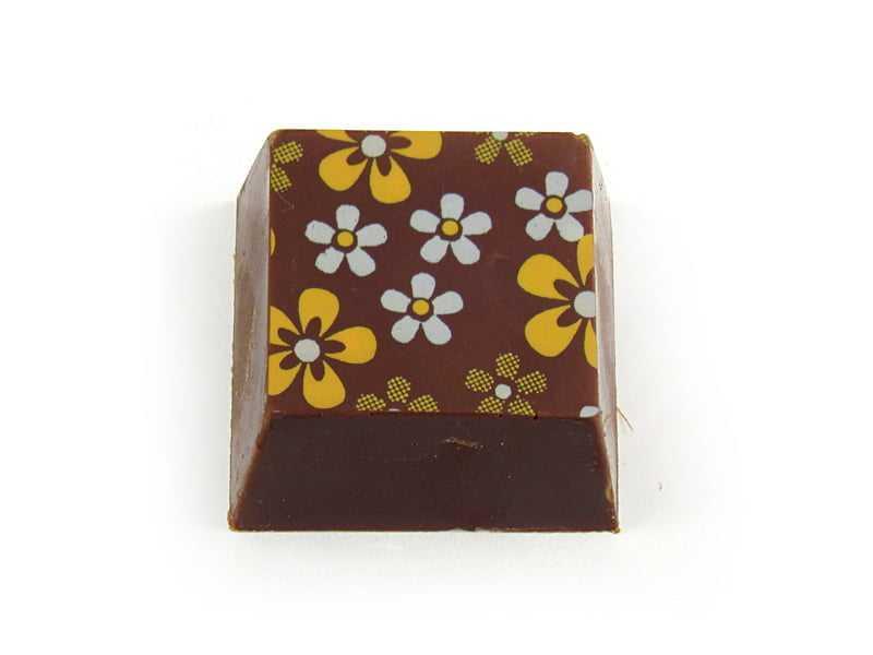 Transfer para Chocolate Flores 8037-04 Amarelo/Branco Mercantil Helvetia