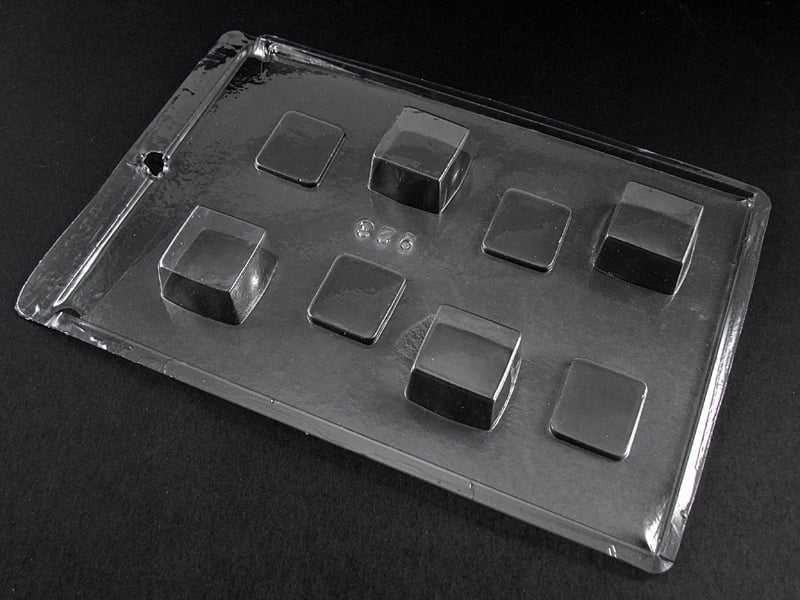 Forma de Acetato Caixa Quadrada com Tampa N923 Tríade