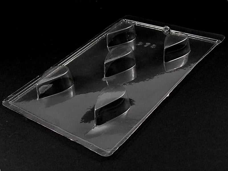 Forma de Acetato Caixeta em Gota 2cm N978 Tríade