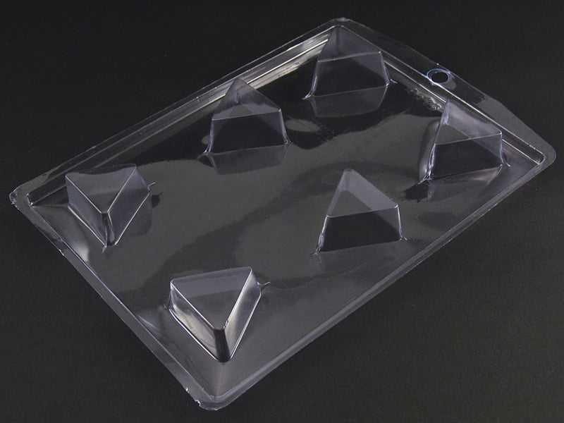Forma de Acetato Bombom Triângulo N4015 Nishimoto