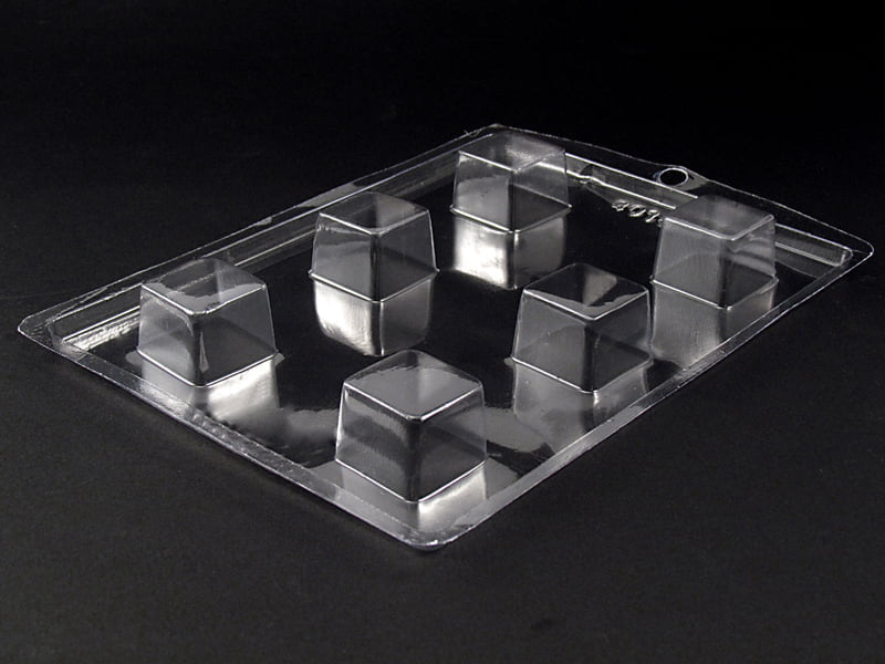 Forma de Acetato Quadrado 3x3x2cm  N4019 Nishimoto