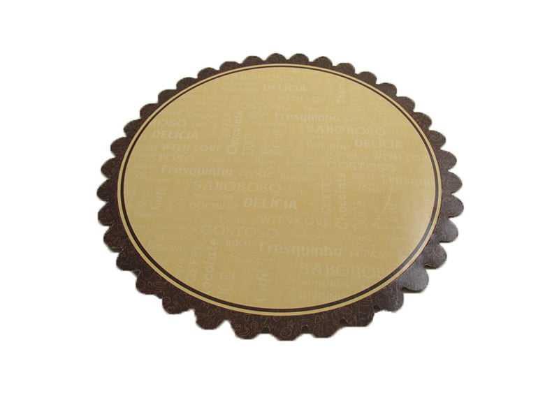 Prato descartável para Bolos e Tortas 34cm - Pris Cake
