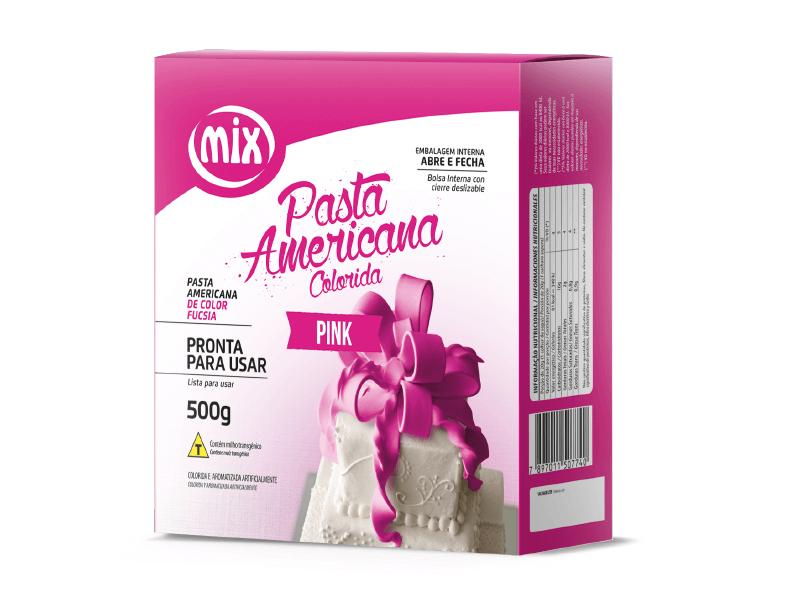 Pasta Americana 500g Pink Mix