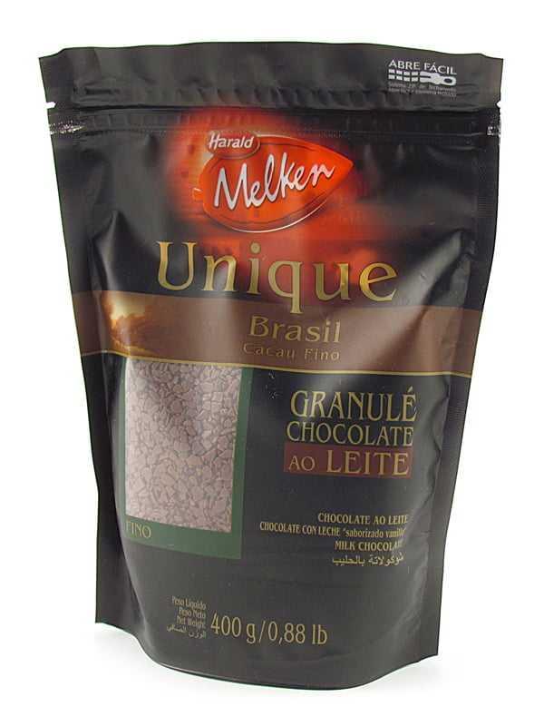 Chocolate Granulado Harald Unique ao Leite Fino 400g