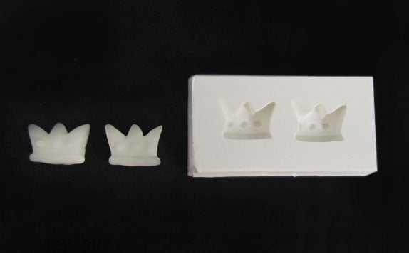 Molde de Silicone Mini Coroas S1747 Gumies