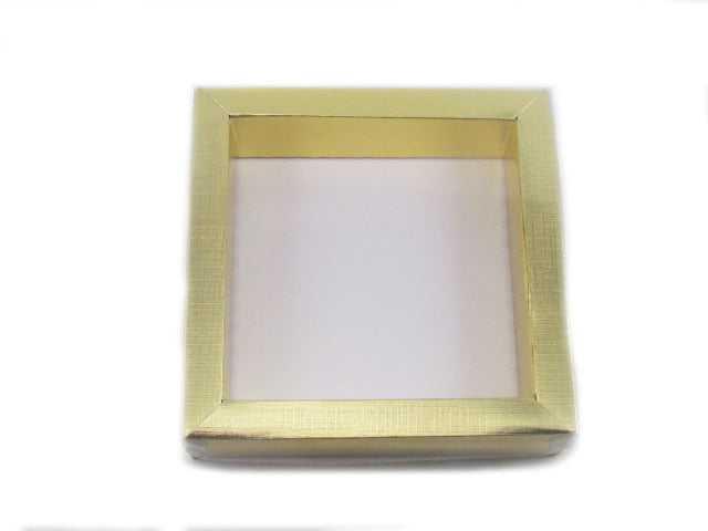 Caixa Quadrada Estojo Metalizada 15x15x4 cm Csr