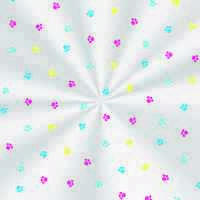 Saco Poli Fantasia Colorido 10 x14 cm c/100 Cromus