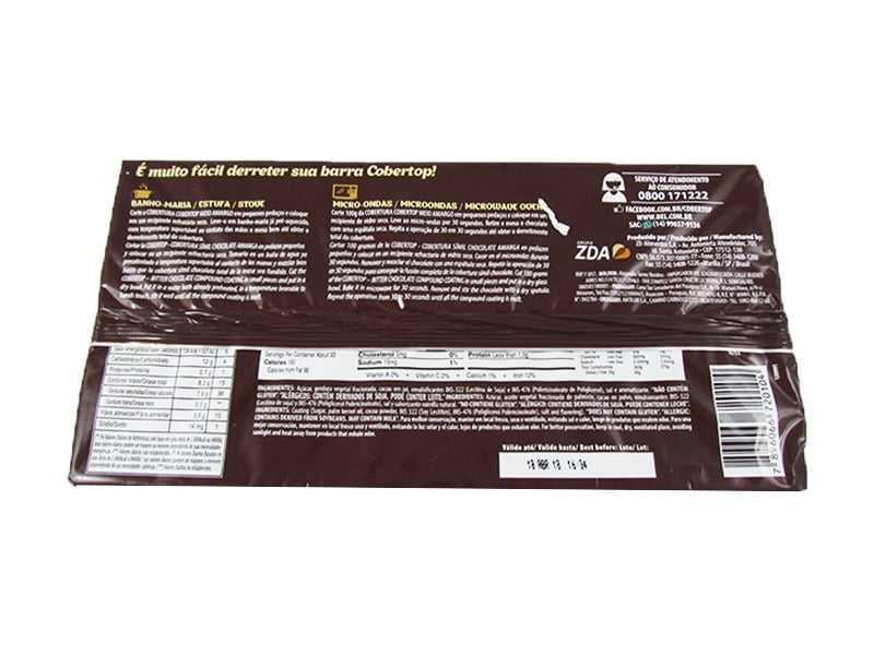Cobertura Bel Chocolate Meio Amargo 1kg