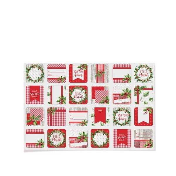 Etiqueta para Presentes Natal -Tradição– Cromus