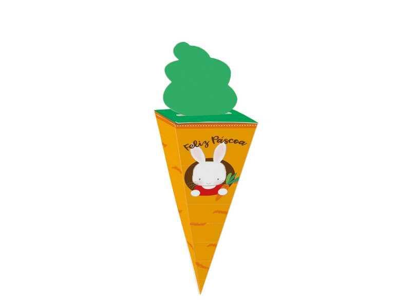 Cone Cenoura M c/ 10 – Toca do Coelho - Cromus