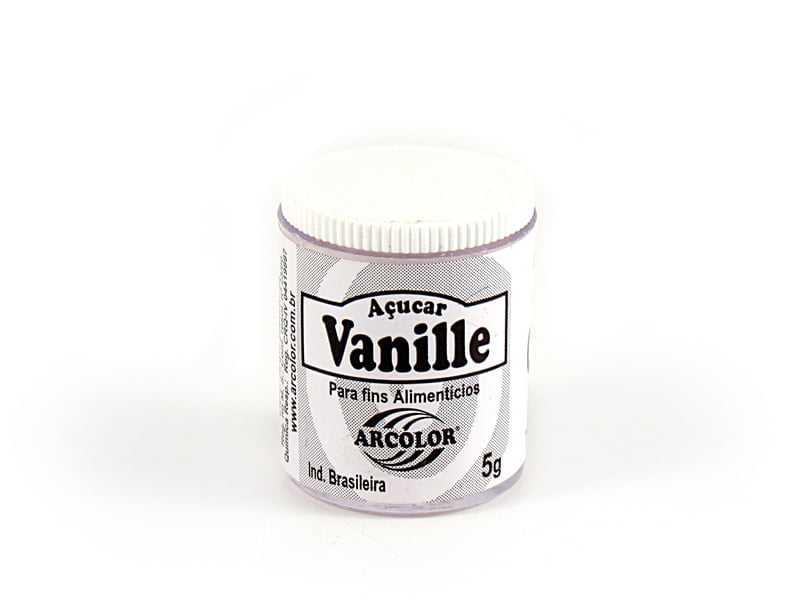 Açúcar Vanile 5g Arcolor