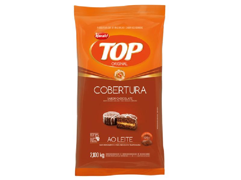 Cobertura Harald Top Gotas Ao Leite 2,1kg