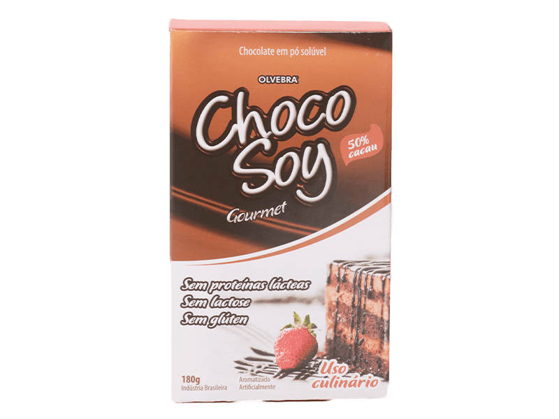 Chocolate em Pó 50% 180g - Choco Soy