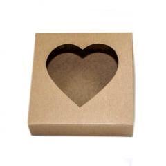Caixa para Coração de Colher 12x12x4 cm Agabox