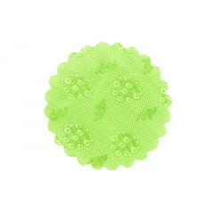 Tapetinho Verde Limão N7 c/100 Leonardi