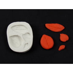 Molde de Silicone Folhas Pequenas S1018 Gummies