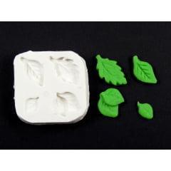 Molde de Silicone Conjunto de Folhas S1252 Gummies
