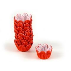 Forminha de Papel Recortada N5 Vermelha c/100 Mago