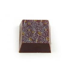Transfer para Chocolate Fios 8031-01 Branco/Ouro