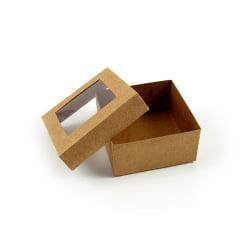 Caixa Krafft com Visor 8x8x4 Agabox