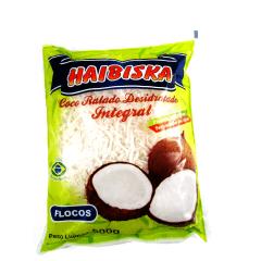 Coco em Flocos 500g Haibiska