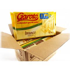 Chocolate Garoto Branco 10.5kg