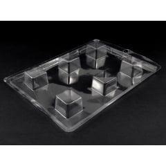 Forma de Acetato Quadrado 3x3x2 N4013 Nishimoto