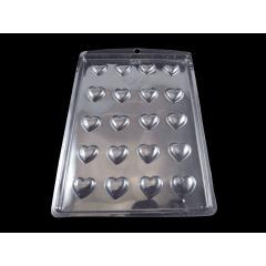 Forma de Acetato Coração Mini N755 Nishimoto