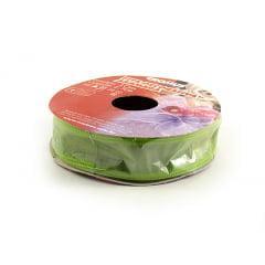 Fita de Organza Aramada  Verde - Cromus