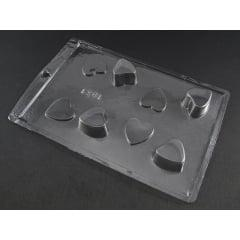 Forma de Acetato Caixa Coração c/Tampa N1031 Tríade
