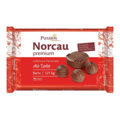 Cobertura Norcau Premium Chocolate ao Leite 1 kg